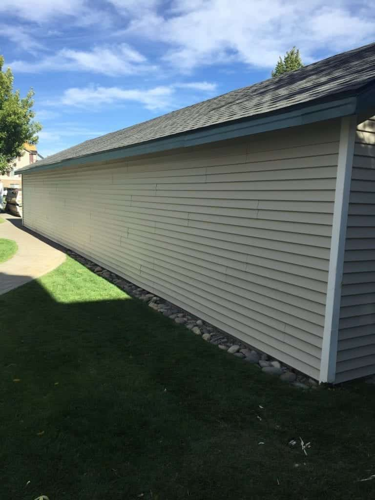 Parkwood Siding, multi-family apartment complex, Meadows At Parkwood in Idaho Falls, ID.